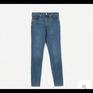 Everlane Jeans - Everlane Authentic Stretch Mid Rise Skinny